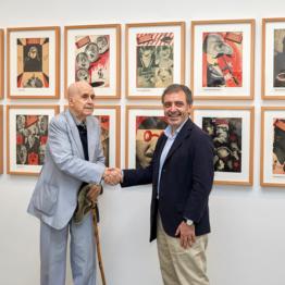 30 collages de Enrique Herreros, para el Museo Reina Sofía