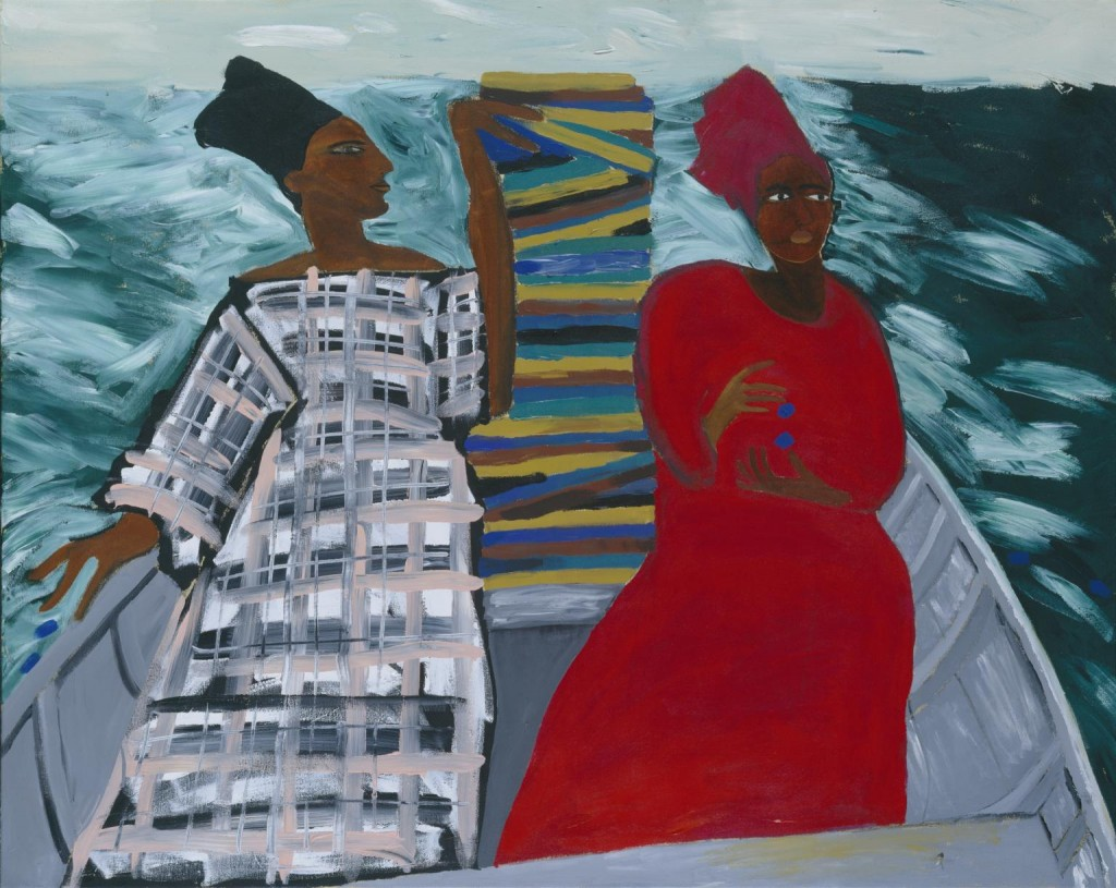Lubaina Himid. Between the Two my Heart is Balanced, 1991