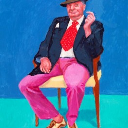 David Hockney. Barry Humphries, 26th, 27th, 28th March 2015, 2015. © David Hockney