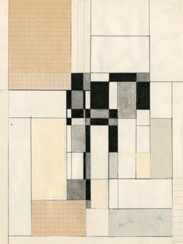 Elena Asins. Divertimentos en el viaje de 1965 (Paris, Köln, Heidelberg, Bruxelles, S/t), 1965- Colección José María Lafuente, Santander