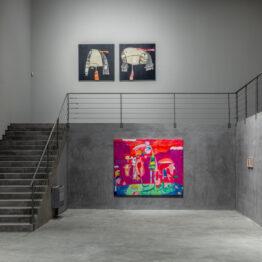 Quince pinturas de Rafa Macarrón se exponen en La Nave Salinas de Ibiza