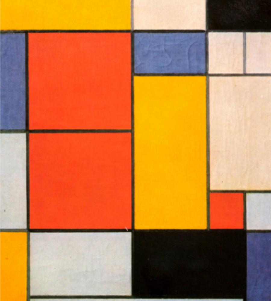 Mondrian. Composición II