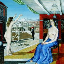 Parte de la colección artística de Telefónica se muestra en Vigo