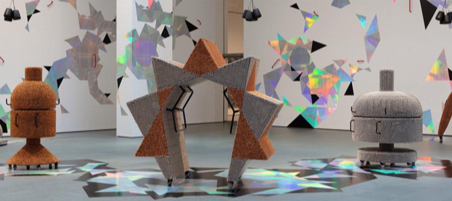 """Haegue Yang. """"Handles"""" en el MoMA"""