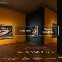"""El Museo del Prado presenta su primera visita virtual, de la muestra """"Pasiones mitológicas"""""""