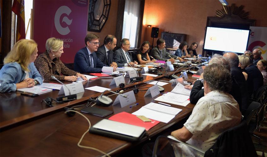 Reunión del nuevo Patronato de la Real Academia de España en Roma