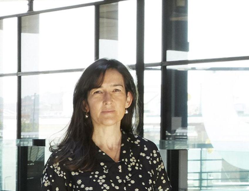 Ángeles González-Sinde, presidenta del Real Patronato del Museo Reina Sofía. Fotografía: Román Lores/Joaquín Cortes