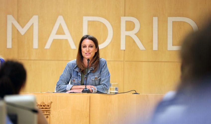 La delegada del Área de Cultura, Turismo y Deporte, Andrea Levy