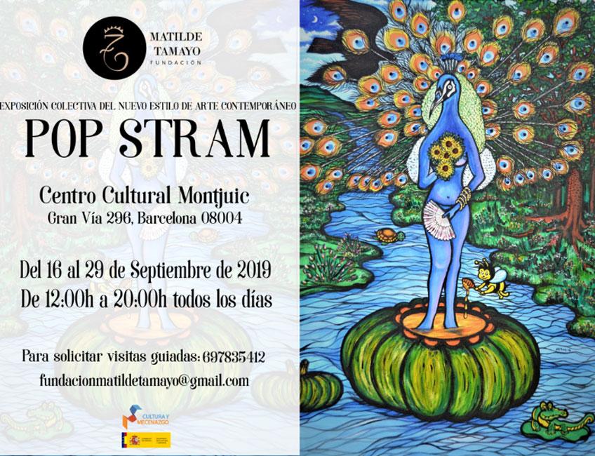 Pop Stram en Montjuic