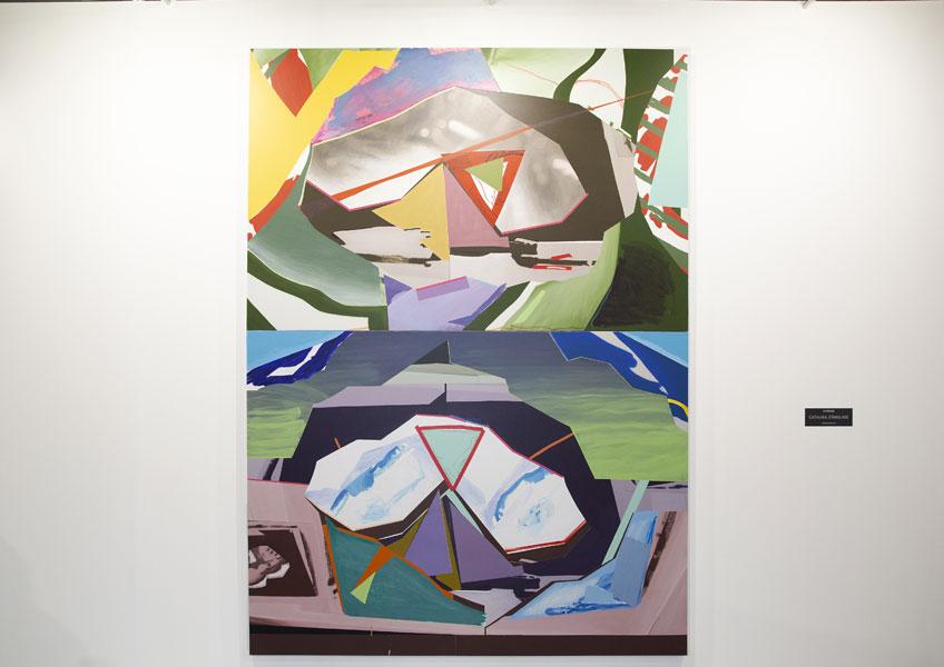 Luis Gordillo. Paisajes por placas, 2017
