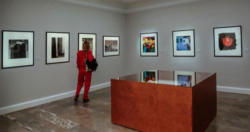 Nueva sala de fotografía de la Real Academia de Bellas Artes de San Fernando. © Vicente Tofiño