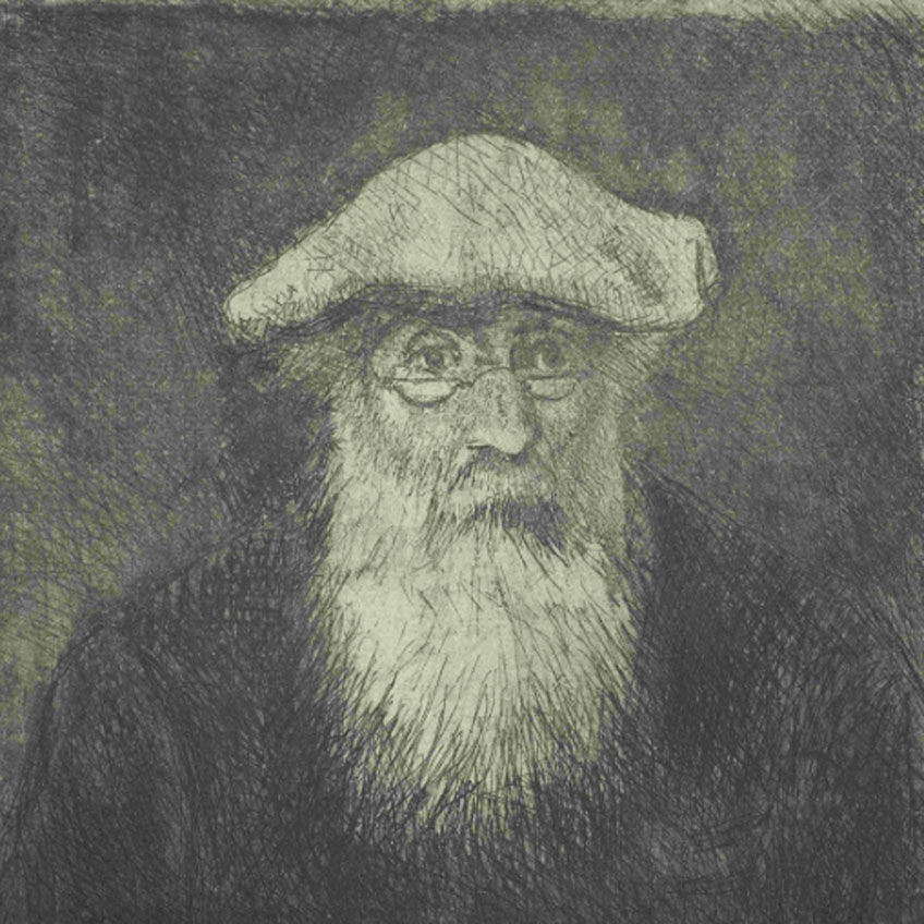 Camille Pissarro. Camille Pissarro, a Self Portrait, 1890-1891. Van Gogh Museum, Amsterdam