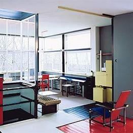 Centenario del movimiento De Stijl, ejemplo en artquitectura es la Casa Rietveld
