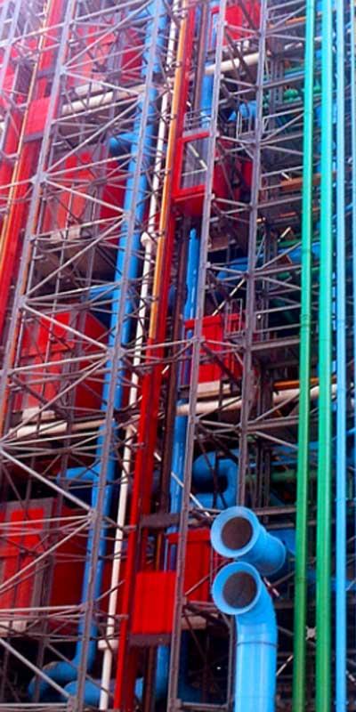 El Centre Pompidou, uno de los primeros museos en sumarse al dominio. art