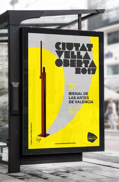 Ciutat Vella Oberta 2017. Bienal de arte multidisciplinar de la ciudad de Valencia