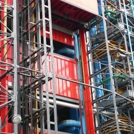 Centro Pompidou París edificio Nouvel