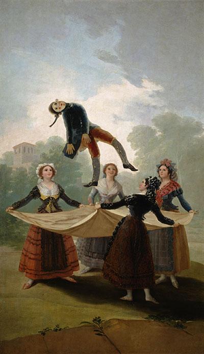 Francisco de Goya. El pelele, 1791-1792