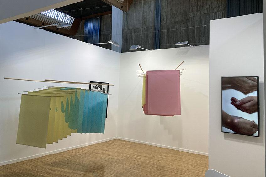 Artesantander 2021. Cristina Mejías / Rodríguez Gallery. Stand 40