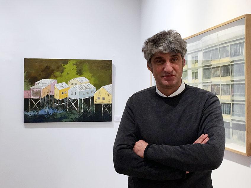 Jorge Alcolea director de SAM. Salón de Arte Moderno