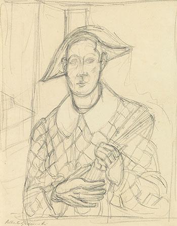 Alberto Giacometti. L'Arlequin, circa 1936-1940. Galería Jorge Alcolea