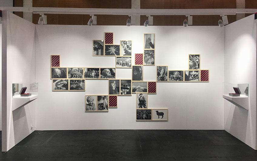 Jorge García. Proyecto comisariado por Fernando Gómez de la Cuesta y Avelino Sala para la galería Gema Llamazares en feria MARTE 2018