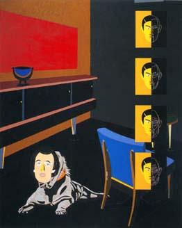 Eduardo Arroyo, El retrato de Dorian Gray, 2000