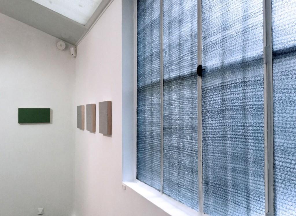 """Vista de la exposición """"La mesure du Temps"""". Cortesía H Gallery"""
