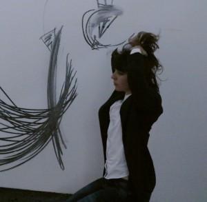 Rosana Antolí. Drawing Performance, Londres 2015
