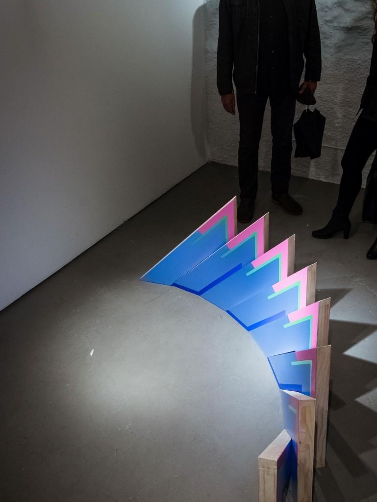 """Exposición """"Entre líneas"""", en la Galería La Isla, Madrid 2016"""