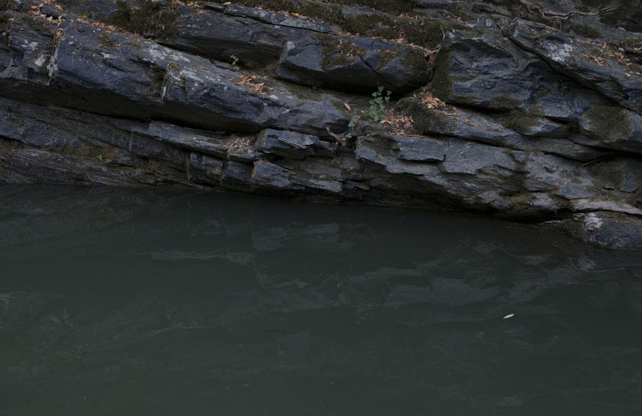 Florencia Rojas. Baño número ocho, proyecto En los mismos ríos entramos y no entramos, [pues] somos y no somos [los mismos].