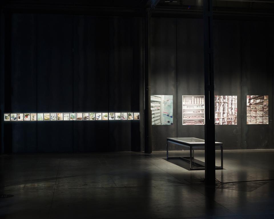Jorge Fuembuena. Proyecto PLANCTUM. En Matadero Madrid, en el marco de ARCOColombia