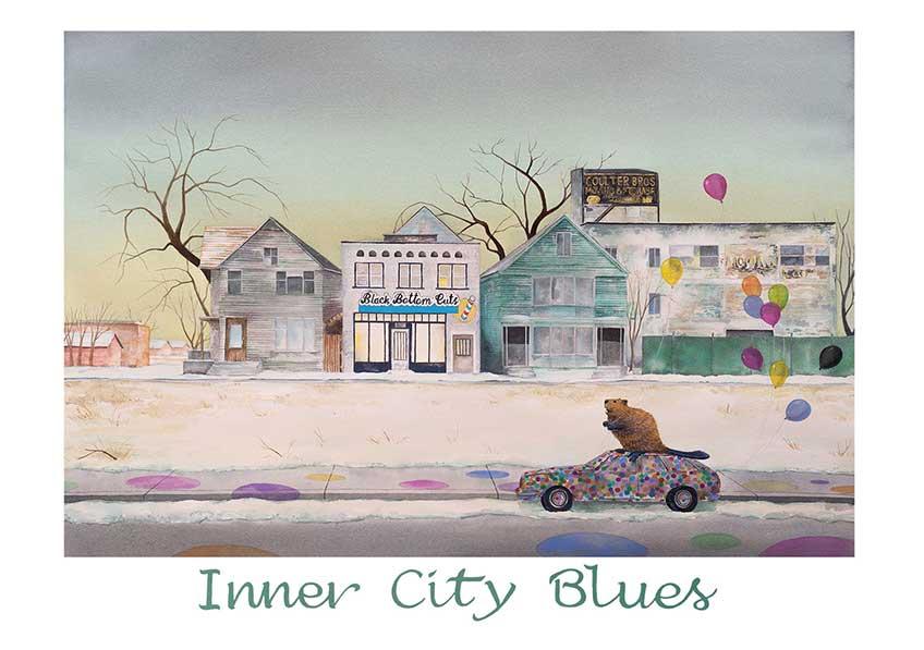 Rosa Álamo. Inner city blues, 2018
