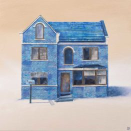Rosa Álamo. Blue home, 2016