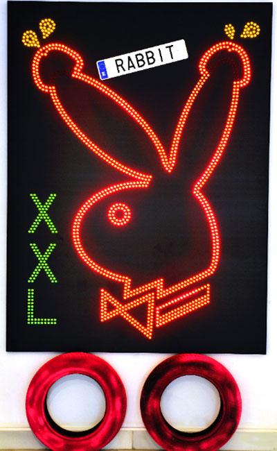 Sandra Paula Fernández. Rabbit XXL, 2012