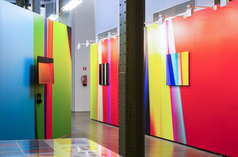 Jorge Isla. Sputtering. Instalación en CentroCentro, 2016