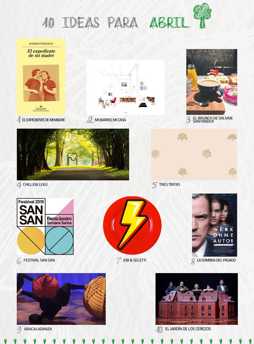 Sugerencias de temporada: 10 propuestas y planes para el mes de marzo