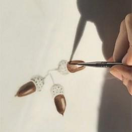 Andrea Zarraluqui. Vajillas pintadas a mano
