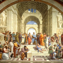 Rafael. Escuela de Atenas, 1509