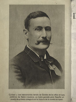 Benito Pérez Galdós. La verdad humana. Biblioteca Nacional