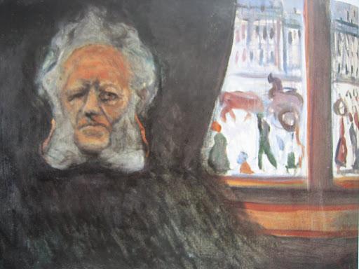 Munch. Henrik Ibsen en el Grand Café, 1898