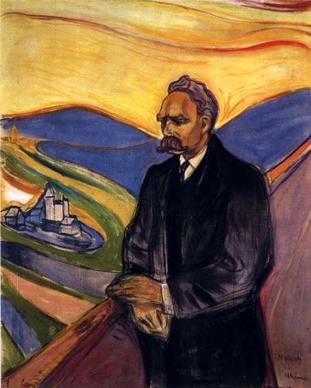 Munch. Friedrich Nietzsche, 1906