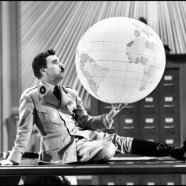 Charles Chaplin. El gran dictador, 1940