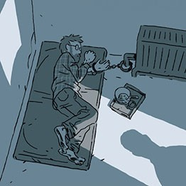Guy Delisle. Escapar, 2016