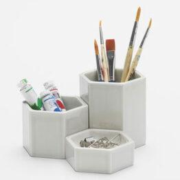 Hexagonal Containers. Jasper Morrison
