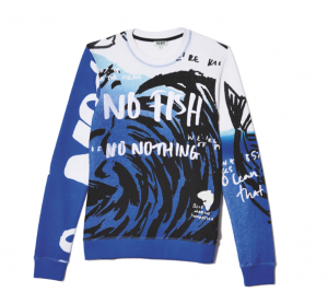 Kenzo. No fish, no nothing