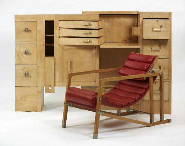 Eileen Gray. Cabinet, 1926