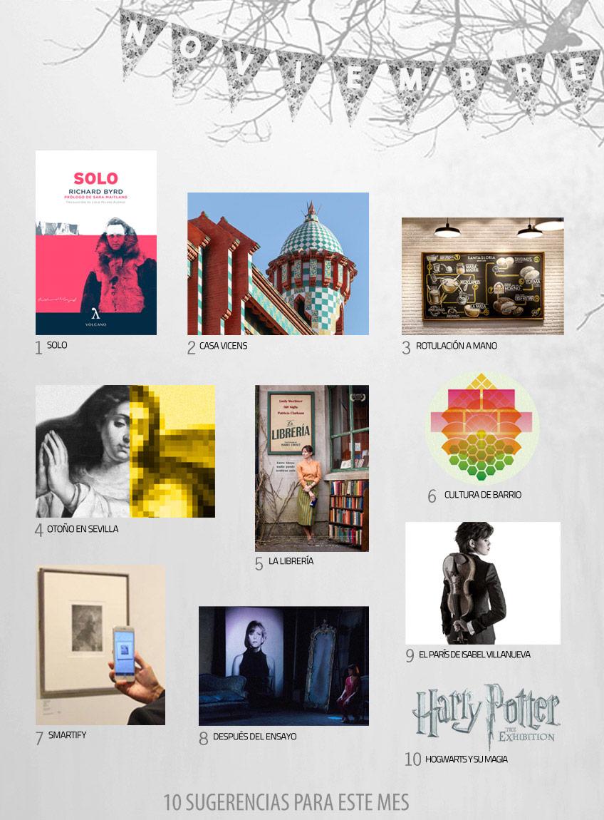 Qué ver en noviembre: La librería, de Isabel Coixet; Harry Potter, the exhibition; Después del ensayo...