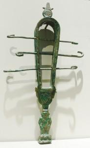Sistro metálico egipcio. Museo Egipcio, Berlín