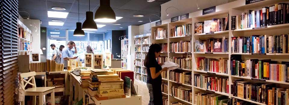 Una de las librerías Re-Read