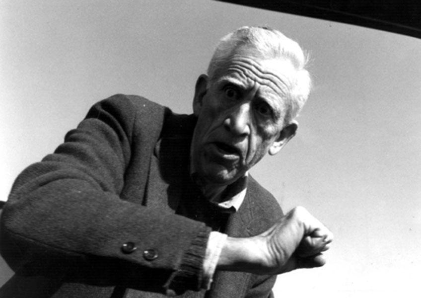 J.D. Salinger reacciona al saberse fotografiado